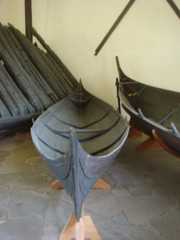Viking rowboat