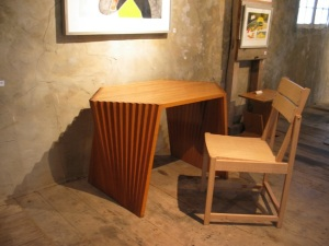Batten Desk and Bauhaus Chair