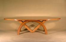 Sextant Elliptical Table