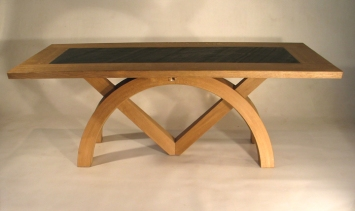 Sextant Slate Table Extended