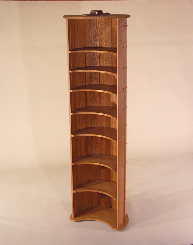 Barrel Bookcase