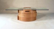 Three Ring Low Table